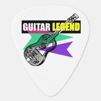 Selección retra del ejemplo del vintage de la plumilla de guitarra