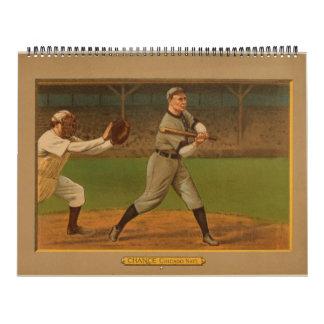 Seleccione 1911 tarjetas de béisbol de la era de o calendario de pared
