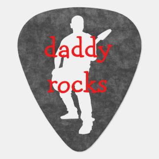 Selecciones frescas de la guitarra del día de padr plumilla de guitarra