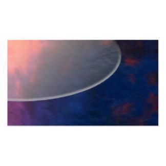 Selecciones naturales - cielo que pinta 01 tarjetas de visita