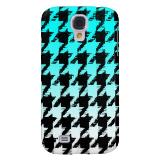 Select A Color Fade to White Houndstooth Galaxy S4 Case