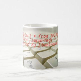 Select * from tblBeer Coffee Mug