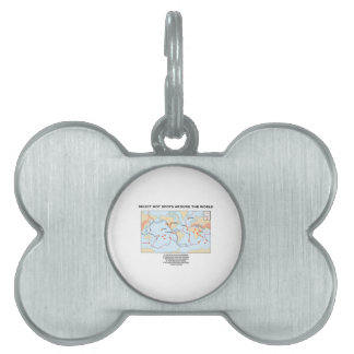Select Hot Spots Around The World Pet Name Tag
