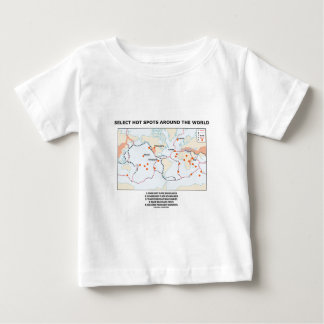 Select Hot Spots Around The World Tee Shirts