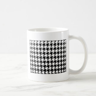 Select Your Color Houndstooth Pattern Coffee Mug
