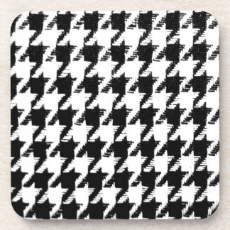 Select Your Color Houndstooth Pattern Coaster