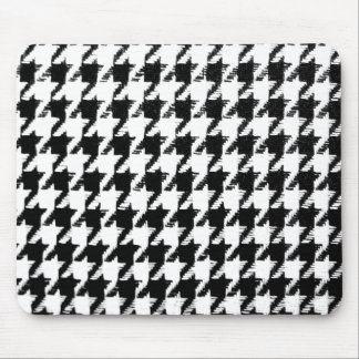Select Your Color Houndstooth Pattern Mouse Pad