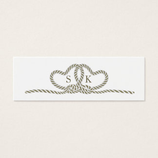 Select Your Color Tie the Knot TTKA Mini Business Card