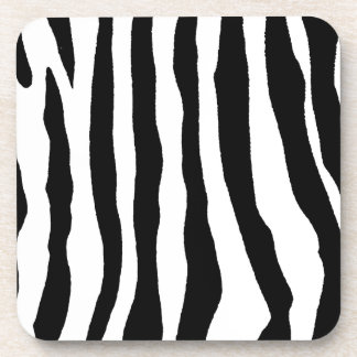Select Your Color Zebra Stripe Beverage Coaster