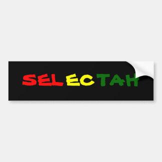 Selectah Bumper Sticker