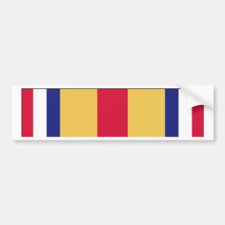 Selected Marine Corps Reserve Ribbon Bumper Sticker