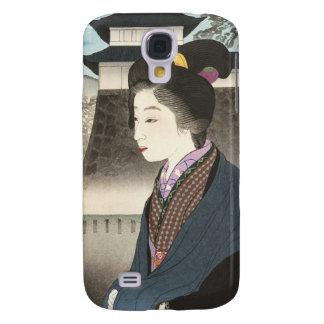 Selected Views of Kyoto, Moon at Nijo Castle Samsung S4 Case