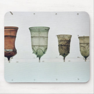 Selection of Frankish glasses, 4th-5th century Mouse Pad