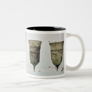 Selection of Frankish glasses, 4th-5th century Two-Tone Coffee Mug