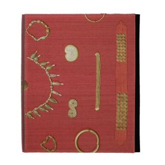 Selection of jewellery, Harappa, 2300-1750 BC iPad Case