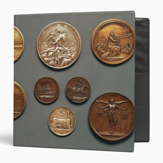 Selection of medals binder