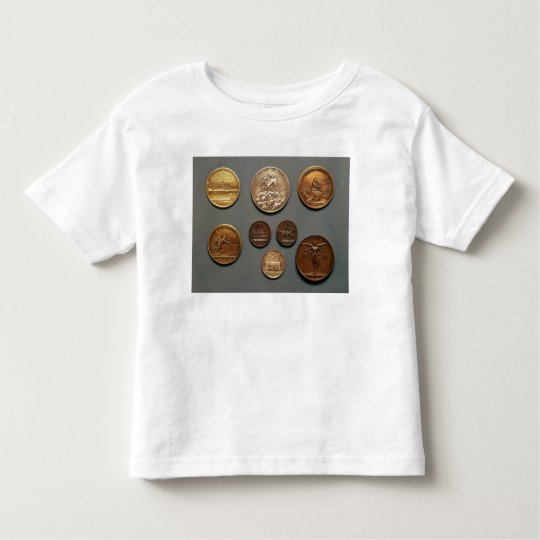 Selection of medals toddler t-shirt
