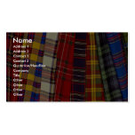 Selection of tartans Double-Sided standard business cards (Pack of 100)
