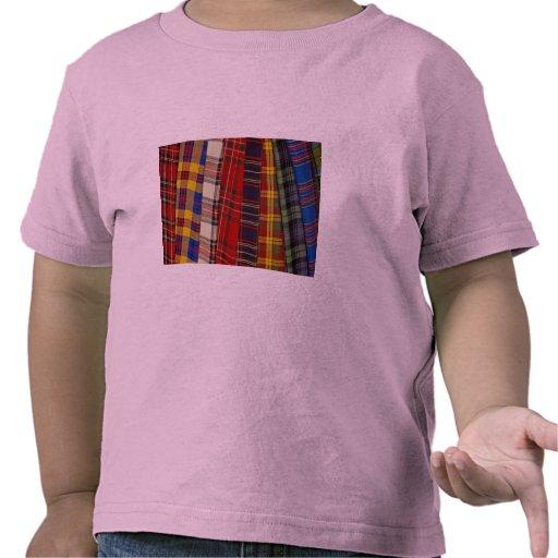 Selection of tartans t shirts