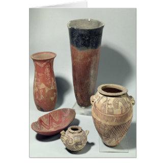 Selection of vases, Naqada I/II Period, 4000-3100 Card