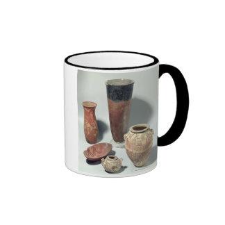 Selection of vases, Naqada I/II Period, 4000-3100 Coffee Mug