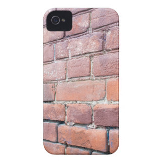 Selective focus on the red brick wall iPhone 4 Case-Mate cases