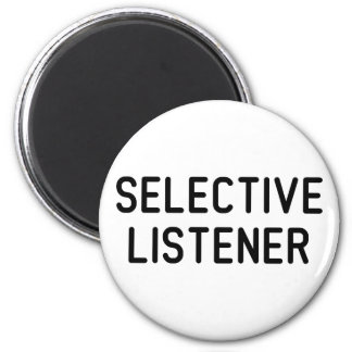 Selective Listener Magnet