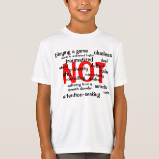 Selective Mutism NOT T-Shirt
