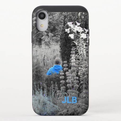 Selectively Blue Visitor Slider Phone Case