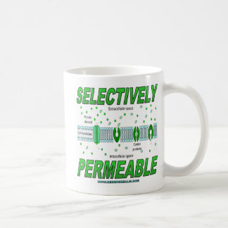 Selectively Permeable Classic White Coffee Mug