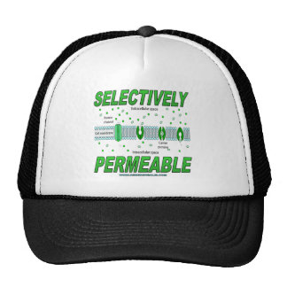 Selectively Permeable Trucker Hat