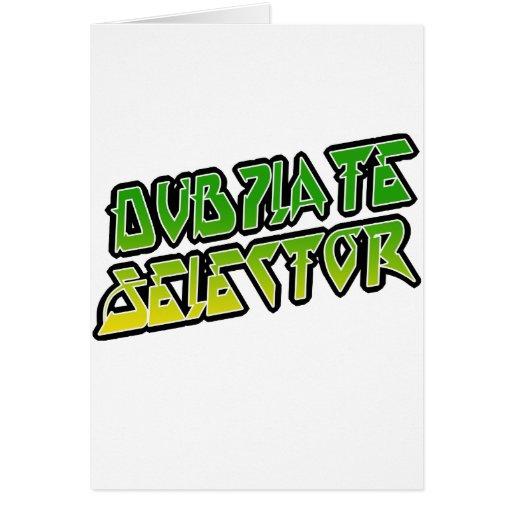 Selector de DubPlate Felicitaciones
