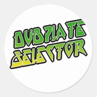 Selector de DubPlate Etiquetas Redondas