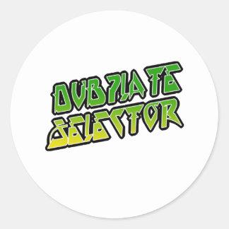 Selector de DubPlate Etiqueta Redonda