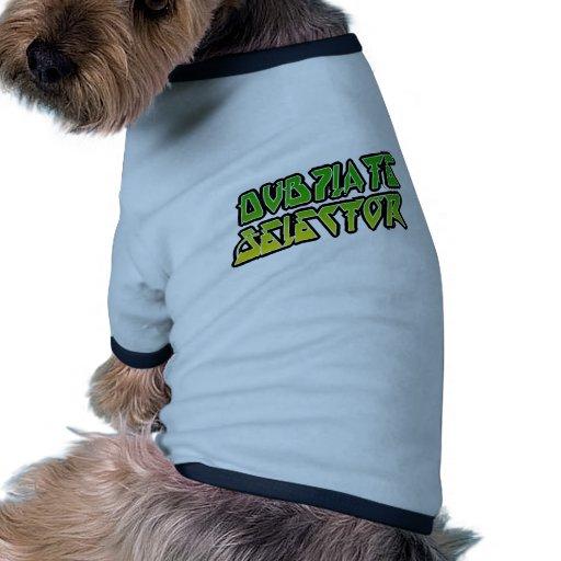 Selector de DubPlate Camiseta De Perro