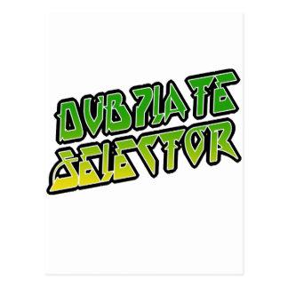 Selector de DubPlate Tarjetas Postales
