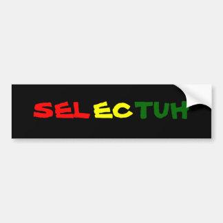 Selectuh Bumper Sticker