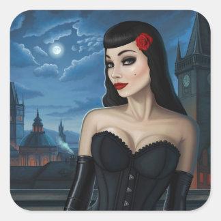 Selena Square Sticker