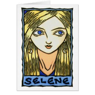 Selene Greeting Card