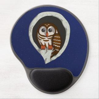 Selene the Owl Gel Mousepad