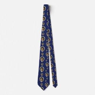 Selene the Owl Men's Neck Tie