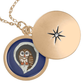 Selene the Owl Necklace