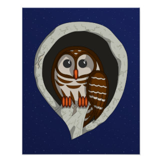Selene the Owl Poster