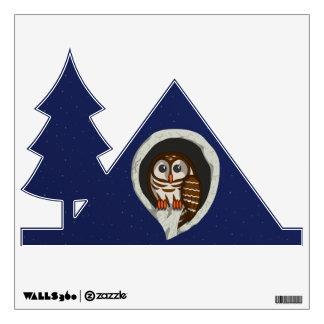 Selene the Owl Wall Decal