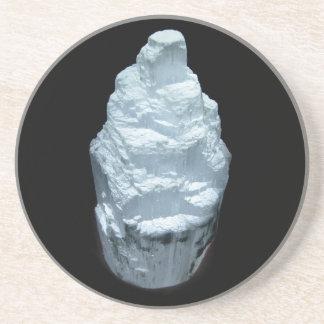 Selenite Crystal Coaster