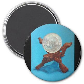 Selenite Orb Magnet