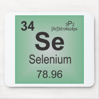 Selenium Individual Elements of the Periodic Table Mouse Pad