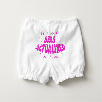 Self Actualized - Pink Diaper Cover