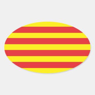 "Self-adhesive Catalan Flag ""Serenya """