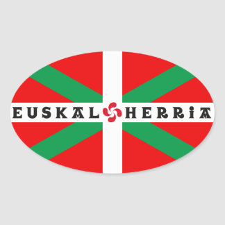 "Self-adhesive Flag Basque ""ikkurina """